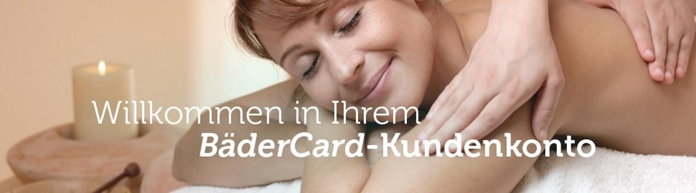 Willkommen in Ihrem BaderCard-Kundenkonto